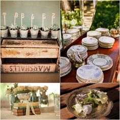 Vintage Wedding Table Decor | 20 Places to Find Vintage Wedding Decor Gems in Cape Town | Confetti ...