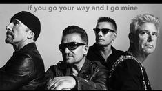 """All the beauty that's been lost before wants to find us again"" - U2 - Every Breaking Wave - Songs of Innocence"