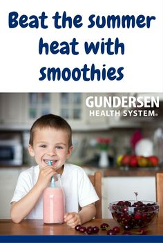 Beat the heat with smoothies