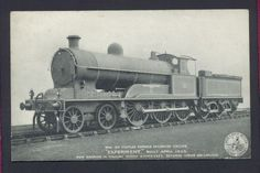LNWR Steam Locomotive Experiment Old Railway Advertising Postcard Listing in the Rail,Transportation,Postcards,Collectables Category on eBid United Kingdom