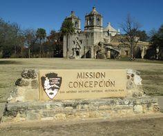 Mission Concepción San Antonio National Historical Park Sign (San Antonio, Texas) | Flickr - Photo Sharing!
