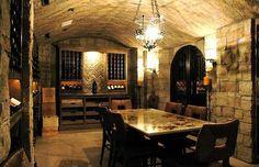 Mediterranean Wine Cellar - Found on Zillow Digs