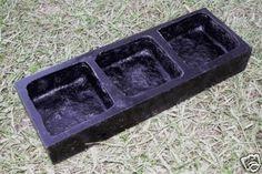 Aldax Poly U Cobble Stone Mould (3 cavity)