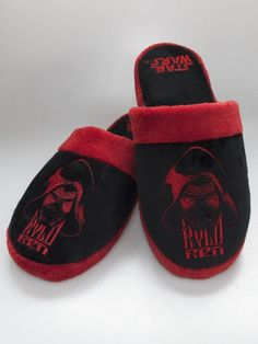 48d7da81e915 Star Wars Kylo Ren Adult Mule Slippers Star Wars Kylo Ren