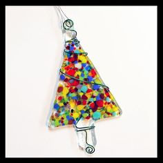 Glassworks Northwest  Multicolored Festive by glassworksnorthwest, $17.50