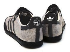 Adidas Original x Stone Island trainers