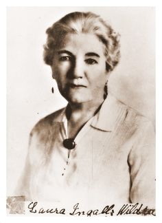 Laura Ingalls Wilder at age 70.
