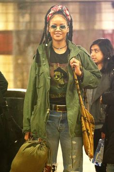 December 3: Rihanna on set filming Ocean's 8