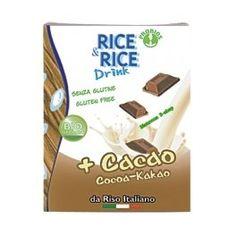 Ρόφημα ρυζιού με κακάο Ποϊόν βιολογικής γεωργίας   Δροσιστικό ρόφημα άριστο για πρωινό, κρύο ή ζεστό Το γευστικό ρόφημα ρύζιου 100% φυτικό, αρωματισμένο με κακάο της σειράς Rice & Rice είναι ιδανική επιλογή  για πρωινό για τους μικρούς μας φίλους  αλλά και να προσφέρει  μια γλυκιά απόλαυση στους ενήλικες. Εξαιρετικό για κέικ και γλυκά. Χωρίς λακτόζη, χωρίς γλουτένη Cocoa, Drinks, Drinking, Beverages, Drink, Theobroma Cacao, Hot Chocolate, Beverage