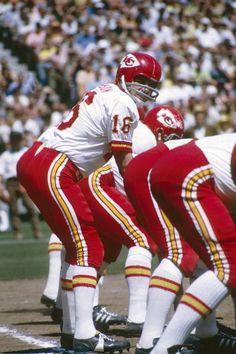 Quarterback Len Dawson of the Kansas City Chiefs