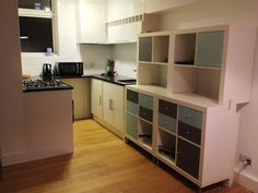 IKEA Hackers: Expedit to kitchen storage and work-top