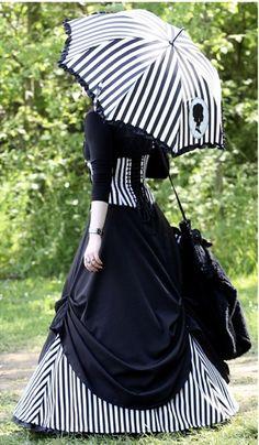 Ideas for dress black gothic night circus Fashion Fantasy, Dark Fashion, Gothic Fashion, Victorian Fashion, Vintage Fashion, Lolita Fashion, Mode Steampunk, Steampunk Clothing, Steampunk Fashion
