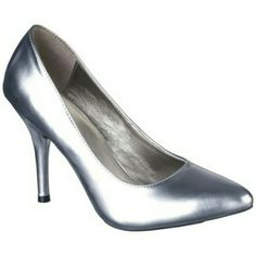 Mossimo High Heels Silver