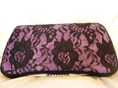 Items similar to Diaper Wipes Case- Purple and Black Lace on Etsy Diaper Wipe Case, Baby Wipe Case, Wipes Case, Diy Baby, Baby Items, Purple And Black, Babyshower, Cases, Cook
