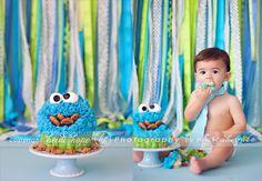 Happy First Birthday, Baby M! | Rhode Island Cakesmash Photographer | Heidi Hope Photography