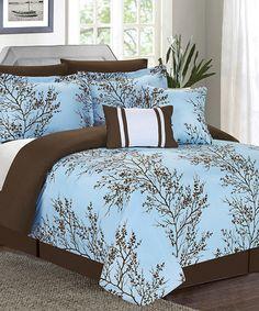 Look at this #zulilyfind! Magic Blue Comforter Set #zulilyfinds