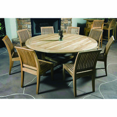 This Westminster Teak Patio Furniture Set includes our Buckingham Round Table and Laguna Side chairs. All our Teak outdoor furniture has a life expectancy of 75 years untreated and weathered. Entry Furniture, Teak Outdoor Furniture, Cottage Furniture, Patio Furniture Sets, Luxury Furniture, Cool Furniture, Rustic Furniture, Antique Furniture, Pallet Furniture