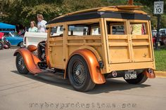 2015 Goodguys Heartland Nationals Part 5 - Royboy Productions Wooden Truck, Wooden Car, Classic Motors, Classic Cars, Chevrolet Trucks, Chevrolet Impala, Station Wagon Cars, Willys Wagon, Woody Wagon