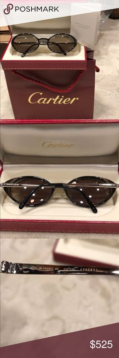 49cc625e19740 Cartier glasses with case certificate and bag These are unisex sunglasses  that will require your prescription