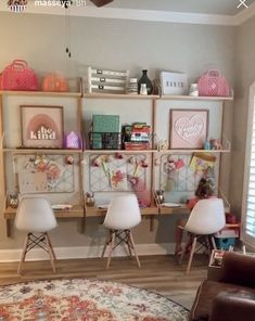A kid's wall decor is amongst the many clever ways to quickly transform a kids bedroom into a lovely interior Svalnäs Ikea, Girl Room, Girls Bedroom, Playroom Design, Wall Design, Design Design, Design Ideas, Toy Rooms, Kid Spaces