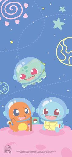 Pokemon Backgrounds, Cool Pokemon Wallpapers, Cute Pokemon Wallpaper, Cute Anime Wallpaper, Cute Cartoon Wallpapers, Cute Kawaii Animals, Cute Animal Drawings Kawaii, Kawaii Drawings, Pokemon Mignon