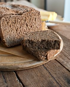 Finnish Sour Rye Bread. Need to make this for the hubby. Have to get the sour rye starter started!