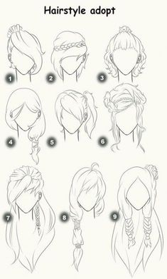 Easy to draw anime eyes step by step drawing anime tutorial drawing anime girl ideas about . easy to draw anime eyes Art Drawings Sketches, Easy Drawings, Drawings Of Hair, Wie Zeichnet Man Manga, Drawing Hair Tutorial, Anime Drawing Tutorials, Art Tutorial, Sketches Tutorial, Simple Anime