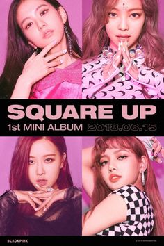 Blackpink Merch in Stock with FREE Worldwide Shipping. Kpop Girl Groups, Korean Girl Groups, Kpop Girls, Jay Z, Yg Entertainment, K Pop, Beyonce, Blackpink Square Up, Koo Hye Sun