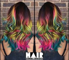 Reminds me of a tropical fish. Love the primary colors. If I ever get layers im going with this