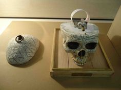 Orphelia's Skull by Owen Woonyung Lee (Central Saint Martins)
