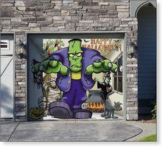 Garage Door Decor Frank and Friends (1car)