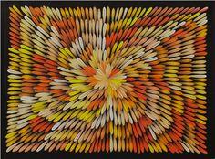 Aboriginal Art Gallery : Jacinta Numina Waugh - Bush Medicine Leaves