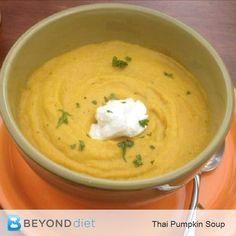 Thai Pumpkin Soup –
