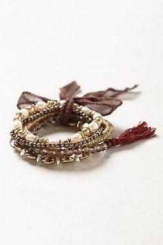 Lakelyn Bracelet Set - Anthropologie (memory wire)