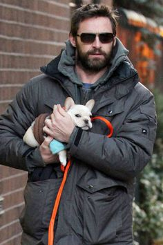 Hot Guys Holding Puppies - Channing Tatum, Taye Diggs, and Adam Levine - Elle