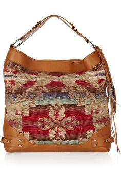 New Ralph Lauren Collection hobo bag...once again...a girl canhttp://pinterest.com/all/?category=women_apparel# dream