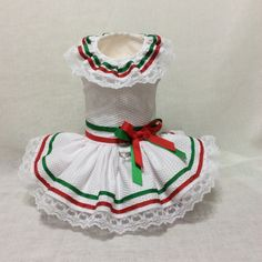 A personal favorite from my Etsy shop https://www.etsy.com/listing/275093204/mexico-cinco-de-mayo-dog-dress