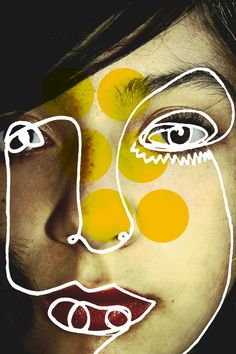 "Saatchi Online Artist: Carlos Cisneros; Photomanipulation, Digital ""02 Serie Carum (Ivana)"" #art"