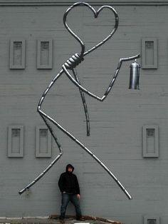 Street art   Mural by Shok-1