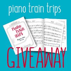 Get our new sheet music giveaway. Only available for 5 days! Get 4 piano trian trips etudes and 1 exercises comprising sheet music and audio files Train Travel, Giveaway, Sheet Music, Exercises, Trips, Audio, Day, Free, Piano Teaching