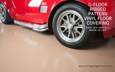G Floor Ribbed Pattern Sandstone Tan Garage Flooring. Made in USA, Easy DIY Install, Lifetime Manufacturer Warranty. Garage Floor Mats, Garage Flooring, Vinyl Flooring, Vinyl Roll, G Floor, Vinyl Floor Covering, Floor Patterns, Easy Diy, Usa