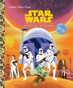 """Star Wars"" is Coming to Little Golden Books"