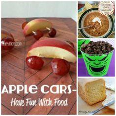 Apple cars, chicken