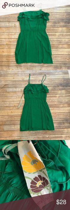 NWT Mimi Chica dress - medium NWT   size medium   adjustable straps   ruffle detail   pockets   💯 Rayon Mimi Chica Dresses