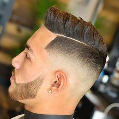 Mid Fade + Part + Combover