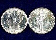 .10 1943 BU Mercury Dime