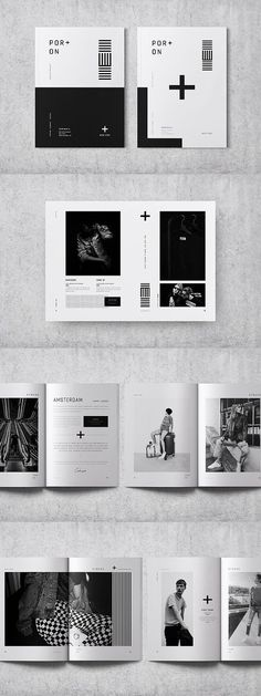 Fashion Lookbook Template #portfolio #lookbook #brochure #template #brochuretemplates #indesign #templates #layout #editorial #fashion