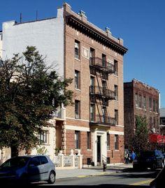 An apartment house in Astoria, Queens.
