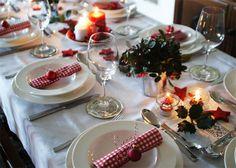 Tischdeko weihnachten 2012  tischdeko mit tulpen osterdeko basteln tisch dekorieren ...