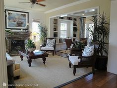 british colonial living room  | Living with a colonial accent - Photo, Modern living room